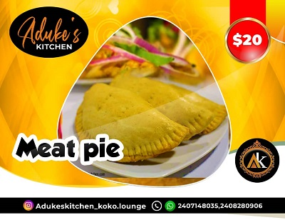 Meat Pie: Adukes Kitchen
